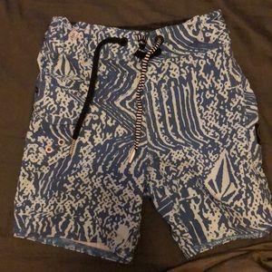 Volcom toddler boys surf shorts